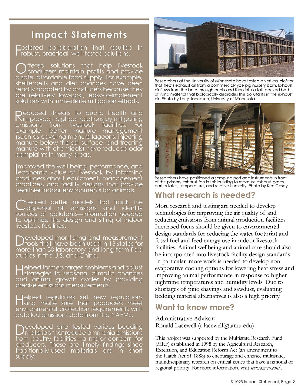 Click on the image below to view/download a high-resolution PDF of the Impact Statement.