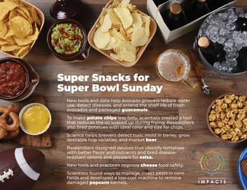 Super Snacks for the Super Bowl