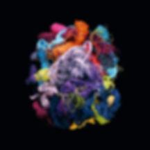 L'insoluble énigme du « bleu manquant » est, à l'instar de cette photographie prise en 2004 parJean-Baptiste Huyhn intitulée Fils, un véritable sac de nœudscolorés...
