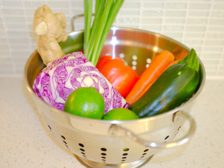 Cooking With Tess: Raw Pad Thai - Vegan & GF