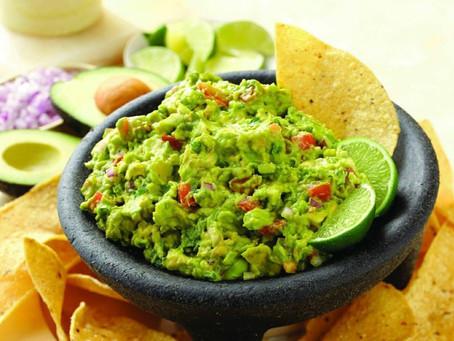 B Menu: Cinco de Mayo Guacamole