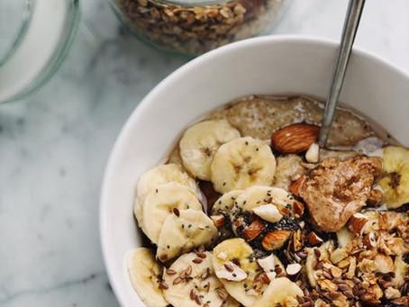 Barre Menu: Five Healthy Snacks
