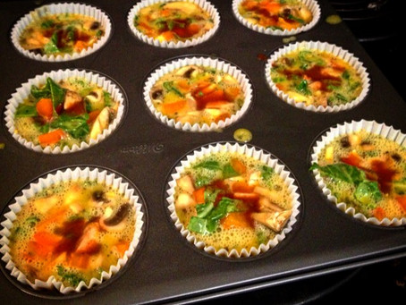 Barre Menu: Egg Muffins