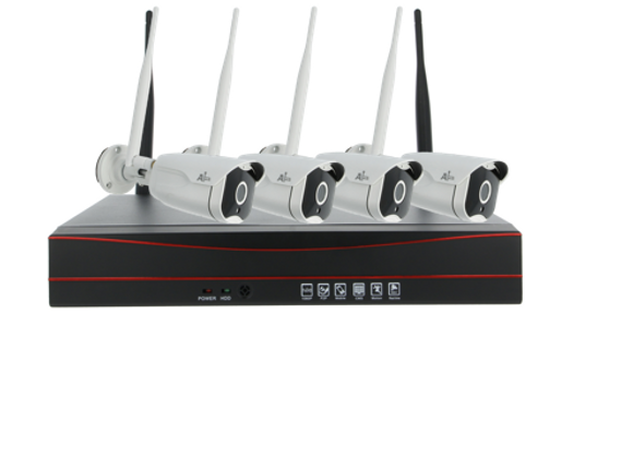 (Network Video Recorder) (CCTV) (4 CHANNEL) (BULLET) (1TB)