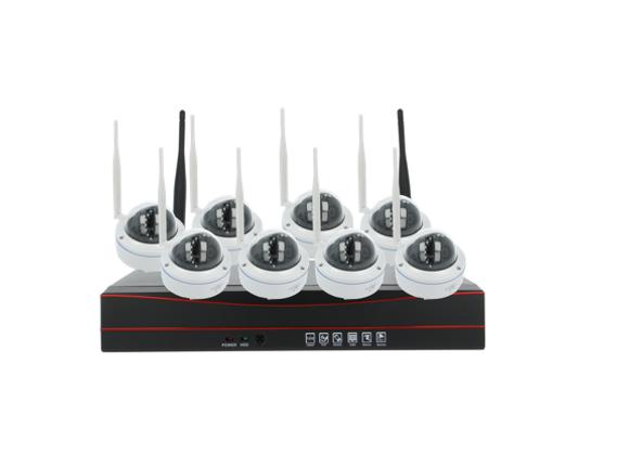 (Network Video Recorder) (CCTV) (8CHANNEL) (DOME) (1TB)