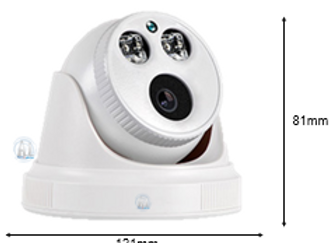 POE (CCTV CAMERA) (DOME METAL)