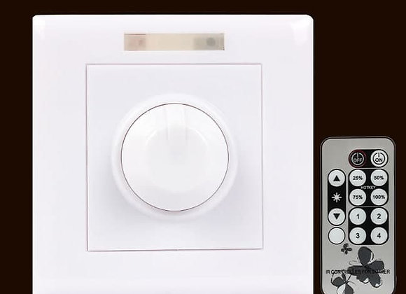 adjustable light dimmer with remote control (40W)
