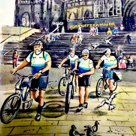 Tour de Cologne | Domplatte
