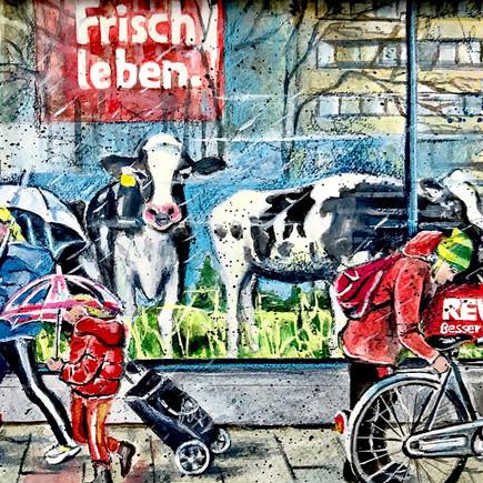 Frisch leben | Rewe Barbarossaplatz