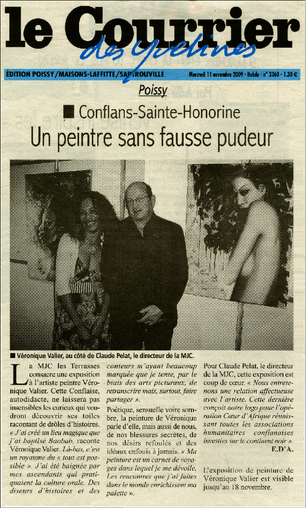 Courrier 78 Nov. 2009
