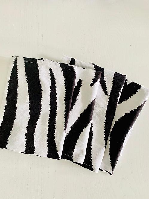 Geschirrtuch- Zebra Look