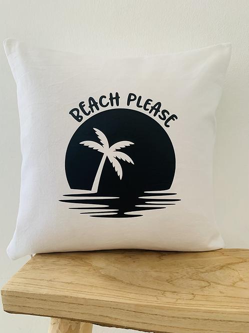 Kissenhülle -Beach please