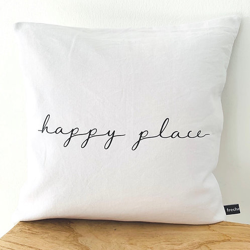 Kissenhülle - happy place