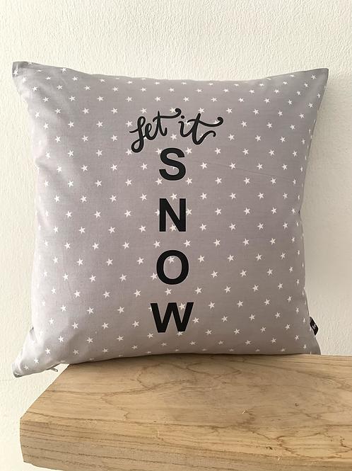 Kissenhülle -Let it snow