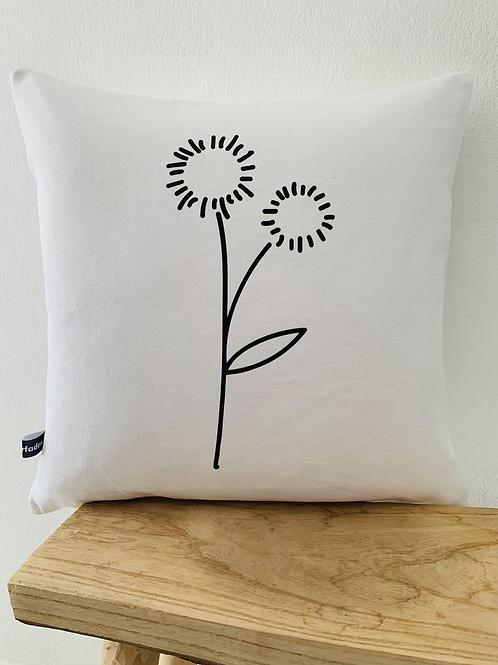 Kissenhülle - Sonnenblume