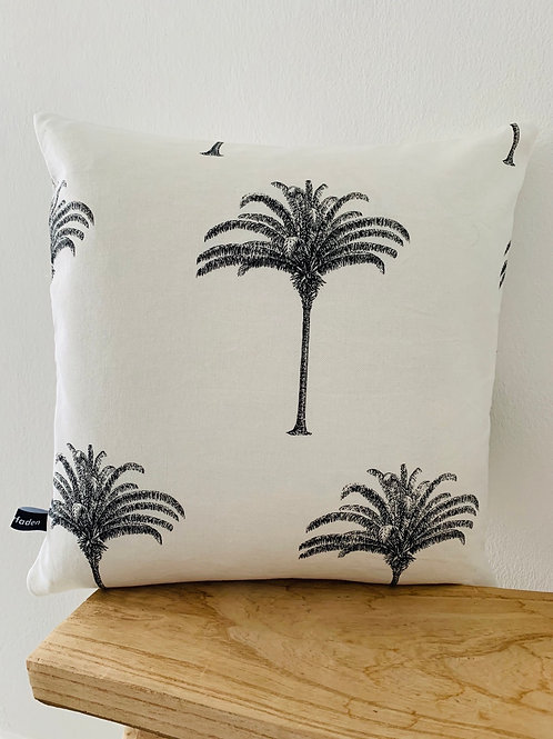 Kissenhülle -Halbpanama Palmen