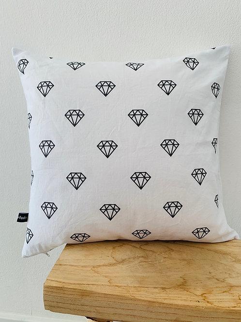 Kissenhülle -Diamanten