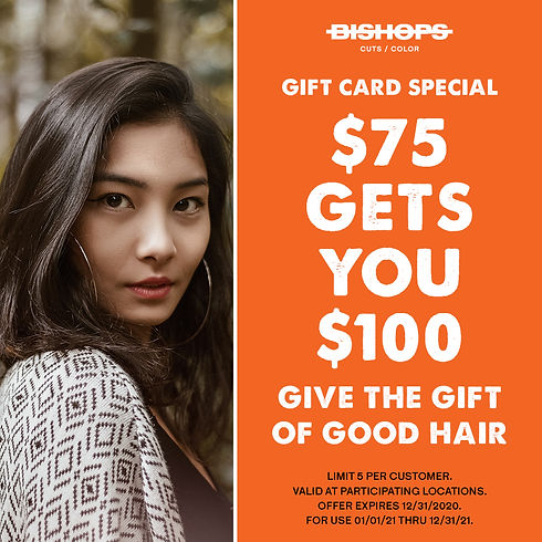 CORP - Gift Card Promo 2020 - Instagram
