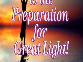 "Quote for All Saints Day ""The endurance of darkness is the preparation for great light"""