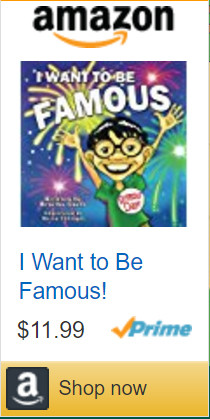 I want to be famous Amazon Childrens book