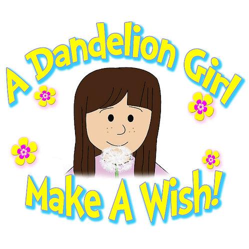 A Dandelion Girl T-Shirt