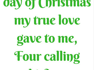 The Fourth Day of Christmas Meaning