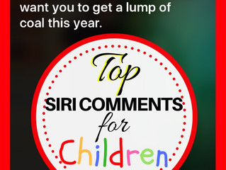 Top Siri Comments for Children