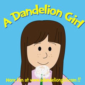 1000 A Dandelion Girl Stickers