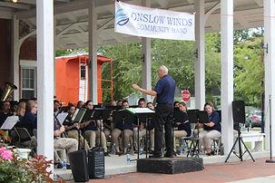 Concert band Jacksonville North Carolina