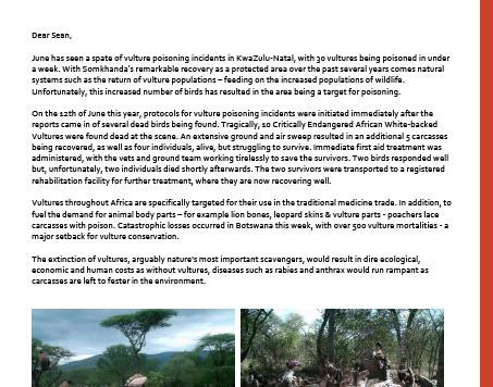 Somkhanda Game Reserve updates