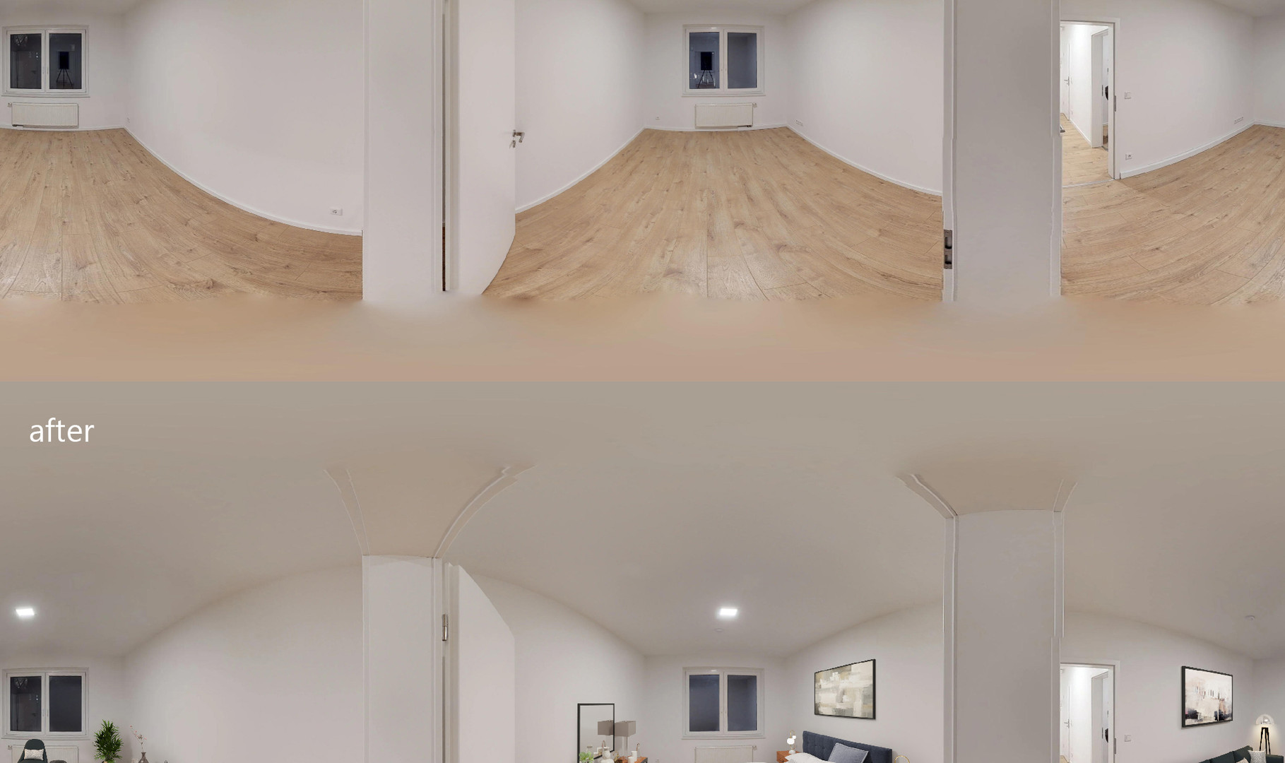 360 Staging - Bedroom and Family