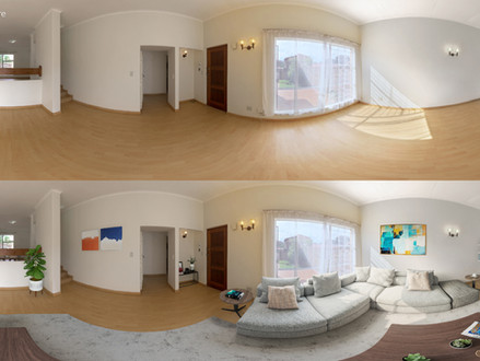 360 Staging - Living