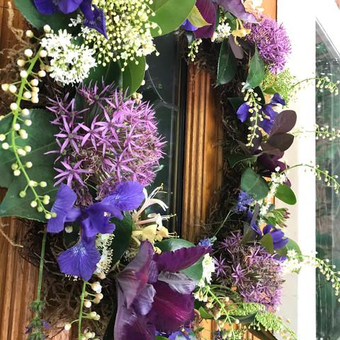 A Spring-Summer wreath
