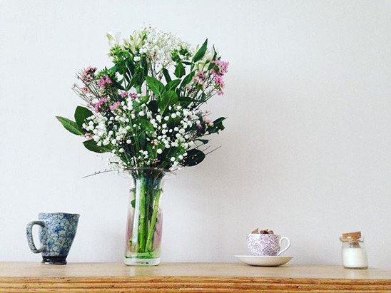 Floral scenes on Mother's Day 💐