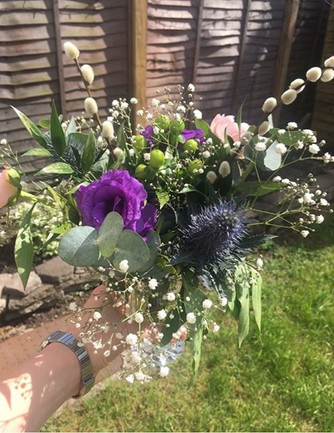 Flowers for Wandsworth Netball Club