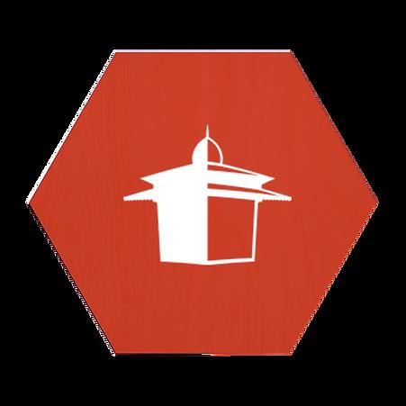 Design de Marcadores de mesa - Quiosque Caricato