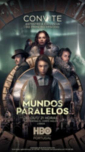 Convite Mundos Paralelos - HBO Portugal
