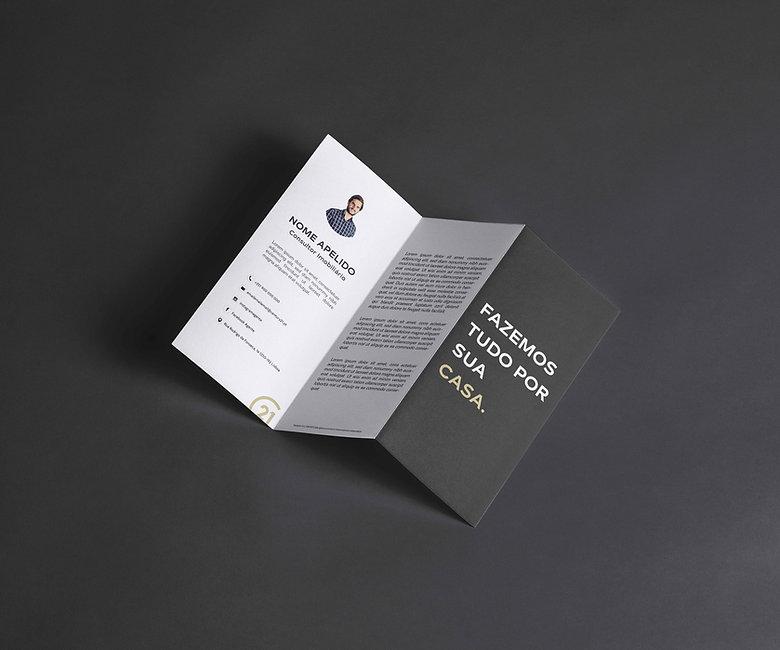 Design de Carta de Apresentação - Century 21 Realty Art M&J