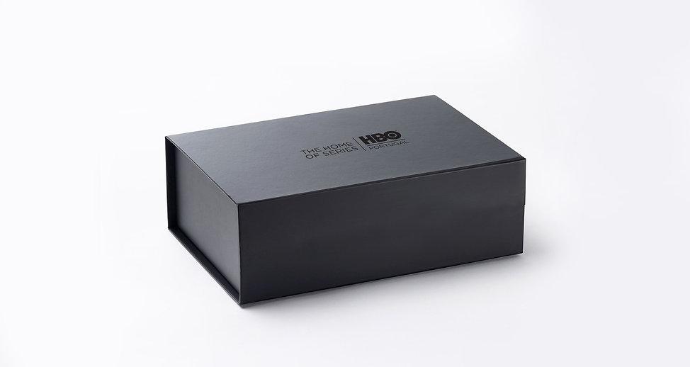 Design de Press Kit de Lançamento da HBO Portugal