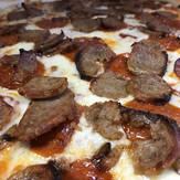 My favorite pizza #sausage #pepperoni #p