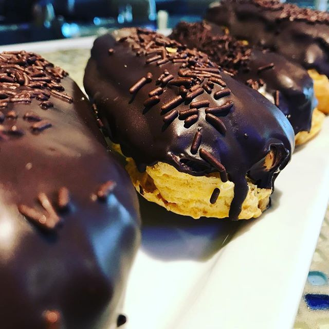 Magnificent #eclairs #chocolatedark #eas