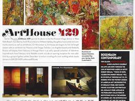 Анонс персональной выставки Сергея Федотова в США опубликован в журнале «Palm Beach Illustrated Maga