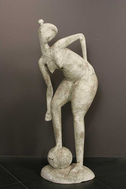 """""""Girl with a ball"""""""