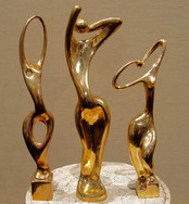 "Recent updates: sculpture by Nokolay Silis ""Three graces""."
