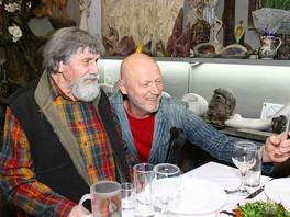 Фоторепортаж с юбилея Николая Андреевича Силиса, выдающегося скульптора современности.