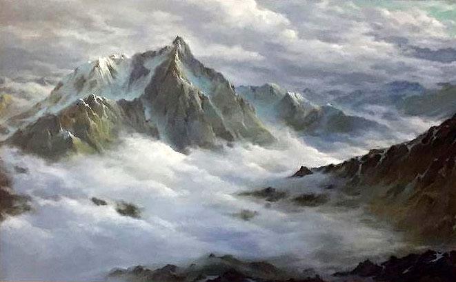 """""""Облака и горы. Массив Дыхтау"""""""