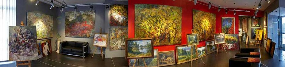 Картинная галерея Валентина Рябова. Выставочные залы