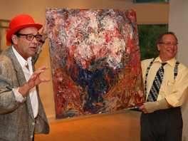 Картина художника Сергея Федотова заняла место в постоянной экспозиции Музея искусств г. Коралл Спри