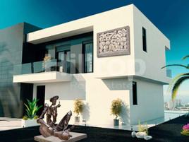 Проект виллы в Бенедорме (Испания). Использованы произведения искусства из коллекции галереи.