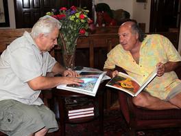Коллекционер Роберт Ротшильд и издатель Владимир Андреев обсудили в Нью-Йорке пути дальнейшего продв